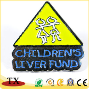 Детский фонд печени Custom металлический штырь значки