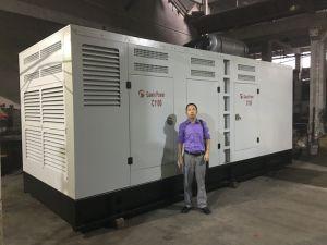 tipo generatore elettrico silenzioso insonorizzato del contenitore 1000kw
