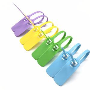 A segurança plástica do fechamento One-Time sela selos ajustáveis do comprimento