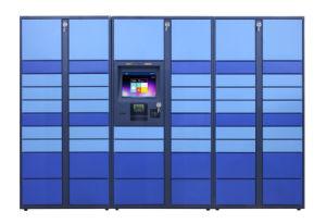 Supermarkt und Anlieferungs-intelligentes elektronisches Speicher-Schließfach