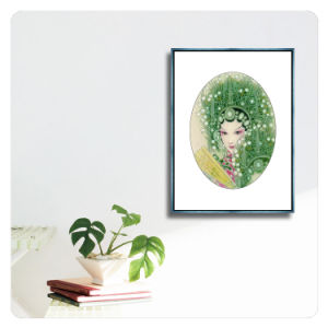 [شنس ستل] كلاسيكيّة تجريديّ صورة زيت نوع خيش صورة زيتيّة جدار فنية زخرفة صورة