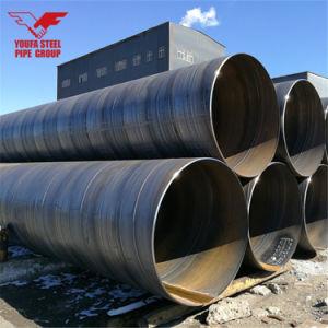 API 5L, A252 Pijp van het Staal van het Lassen van het Koolstofstaal ASTM de Spiraalvormige voor de Levering van het Water, Bouw