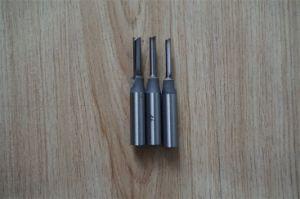 Планка из твердого сплава двух флейты прямой нож дерева фрезой