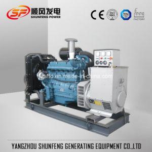 De tipo abierto 375kVA 300kw de energía eléctrica del generador diesel Doosan OEM