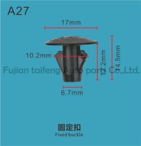 Qualitäts-Selbstplastikclip/Befestigungsteile/Stoss-Typ Haltering 01553-09241