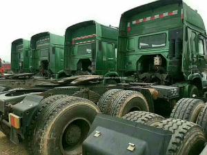 Gebruikte Sinotruck HOWO Rhd LHD de Vrachtwagen van 8/4 6/4 Tractor van de Stortplaats