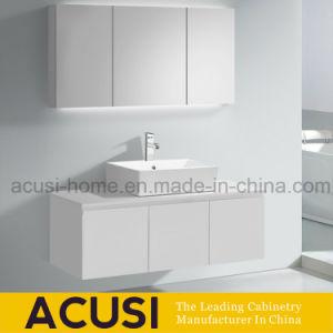 Governo di stanza da bagno bianco del dispersore della lacca del compensato di attaccatura di parete singolo (ACS1-L72)