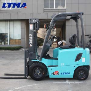 Ltma 1-3 Ton Ton Mini 1.5 elevadoras eléctricas carretilla elevadora
