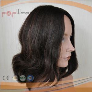 ブラジルのバージンの毛のユダヤ人のかつら(PPG-l-01538)