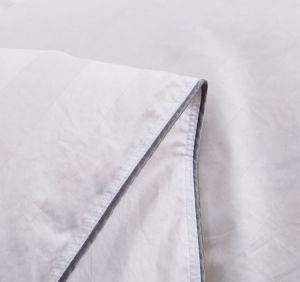 75% 백색 오리 임금 또는 Cal 임금을 아래로 채우는 공급 Puredown 위안자 면 쉘 줄무늬 백색
