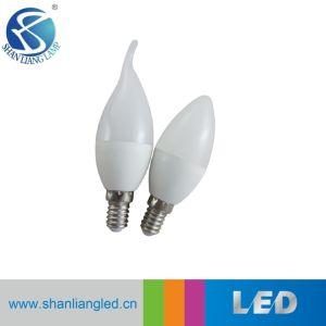 Romántico de forma de vela de iluminación LED 5W Bombilla de C35