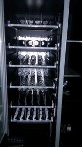 Тесто выпечка Combo автомат с полным стеклянная передняя панель