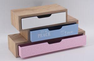 中国の製造者の昇進の子供の引出しが付いている木のギフト用の箱