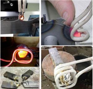 溶接のろう付けのダイヤモンドのための誘導加熱機械は鋸歯を
