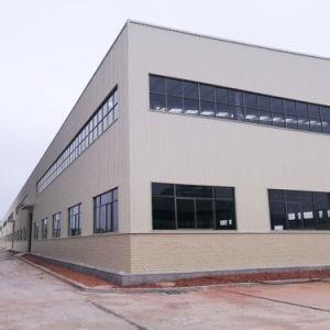 Estructura de acero prefabricados para la construcción de almacén taller (TW-KA051)