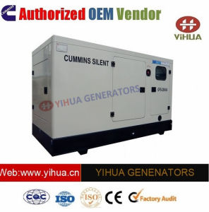 80 kVA Puissance électrique silencieux Cummins Générateur Diesel[IC180309f]