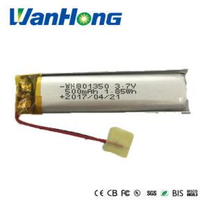 801350pl 500mAh Li-ion para LED