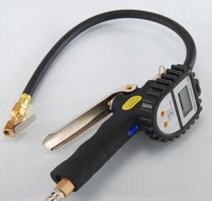 4 в 1 высококачественный цифровой манометр для измерения давления воздуха в шинах погрузчика