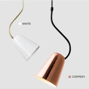 Het prachtige het Hangen van het Ontwerp Moderne Licht van de Verlichting van de Tegenhanger met leiden en de Schaduw van het Metaal voor Staaf, de Winkel van de Koffie, Slaapkamer, Keuken