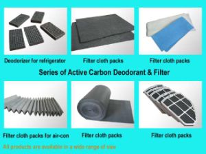 Series Of Active Carbon Deodorant & Filter