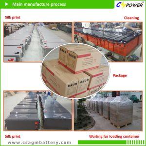 China profunda Clcle Batería 12V 120Ah los precios de la batería
