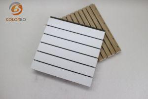 Haut Grade de bois ignifugé Panneau acoustique