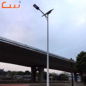 鋳造物ハウジング30W 50Wのポーランド人が付いている太陽街灯を停止しなさい