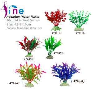 4 pouces/10cm Aquarium Plantes de l'eau pour les poissons des réservoirs