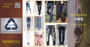 Мужчины Женщины дети хлопка растянуть классический моды Skinny заводе джинсовой Жан