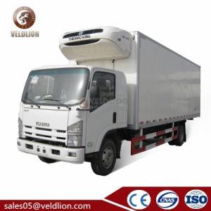 Isuzu 2 3 4 5 6 7 8 10 판매를 위한 고기 그리고 물고기를 위한 톤에 의하여 냉장고 Foton 냉장되는 소형 냉각 Small Refrigerator 밴 Box Truck
