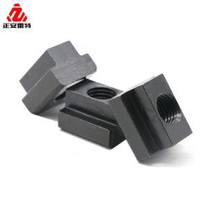 Oxyde noir en acier au carbone M4 M5 M8 T l'emplacement de l'écrou pour profilé en aluminium