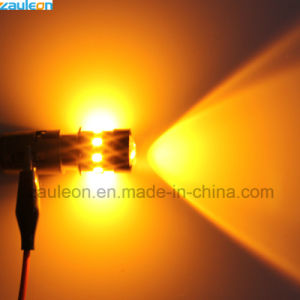 Super helles bernsteinfarbiges Birnen-Auto-Drehung-Signal-Licht des Gelb-1157 Bay15D P21/5W LED