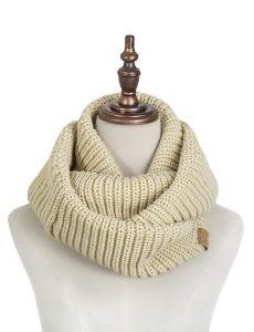 カスタムアクリルの冬の暖かい女性のための帽子によって編まれる卸し売り帽子およびスカーフセット