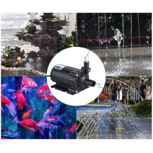Погружение расход 600 л/ч Энергосберегающая автоматическая бесщеточный возврата воды амфибии насосы 24 В постоянного тока
