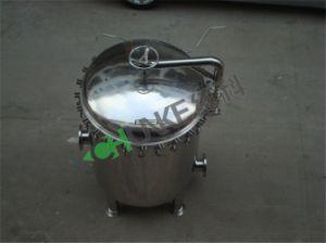 Caja del filtro de cartucho de acero inoxidable la máquina