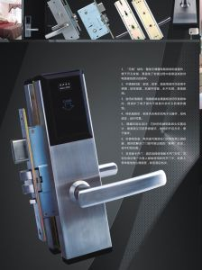 HF-Chipkarte-amerikanische Standardhotel-Tür-Verschlüsse (M1181MFSC)