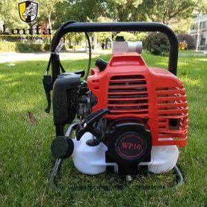 작은 소형 1개의  1inch 25mm Wp10 가솔린 엔진 수도 펌프