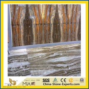 壁及び床の敷物のためのタラのオニックス大理石の平板及びタイルまたはホテルのロビーのための金クリーム色のオニックス大理石の床タイル