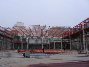 China marco de la construcción de estructura de acero prefabricados