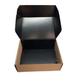 Fsc papel castanho ondulado Caixa dobrável