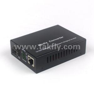 10/100m SFP de fibra óptica conversor de medios de comunicación