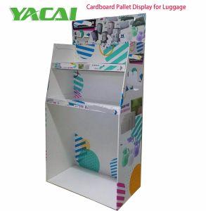 Papierfußboden-Bildschirmgerät Innotive Entwurf des Pappausstellungsstandes