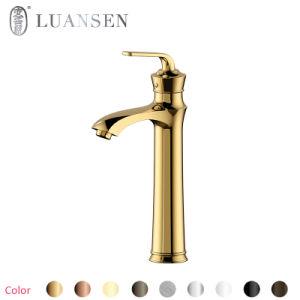 Luansen真鍮水浴室の洗面器のコック