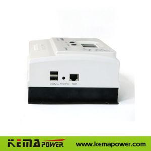 MPPT 70AMP 12/24/LCD de 48 VDC Convertidor de carga solar con la compensación de temperatura