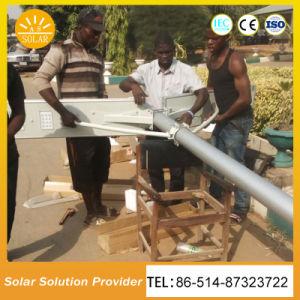 30W de potência elevada tudo-em-um solar integrada luzes da rua / Lâmpada