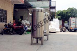Alojamento do filtro de manga de aço inoxidável para sumo