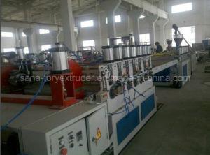Mousse PVC Feuille de carte plastique gamme de machines de l'extrudeuse