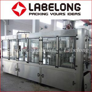 Automatische 3in1 het Vullen van het Flessenspoelen van het Drinkwater Het Afdekken Machine