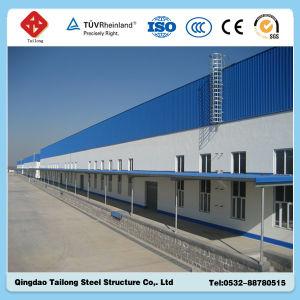 Nuovo magazzino prefabbricato della struttura d'acciaio
