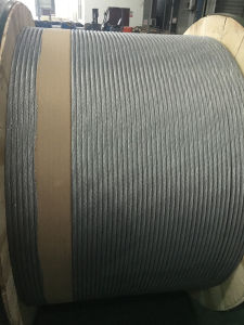 Alta tensão de rotura de aço revestido de alumínio Acs Strand Fio para longa linha de transmissão de calibragem